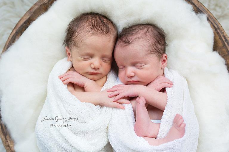 Annie Gower-Jones Photography newborn twins baby photos Manchester Cheshire Altrincham Hale Timperley Knutsford