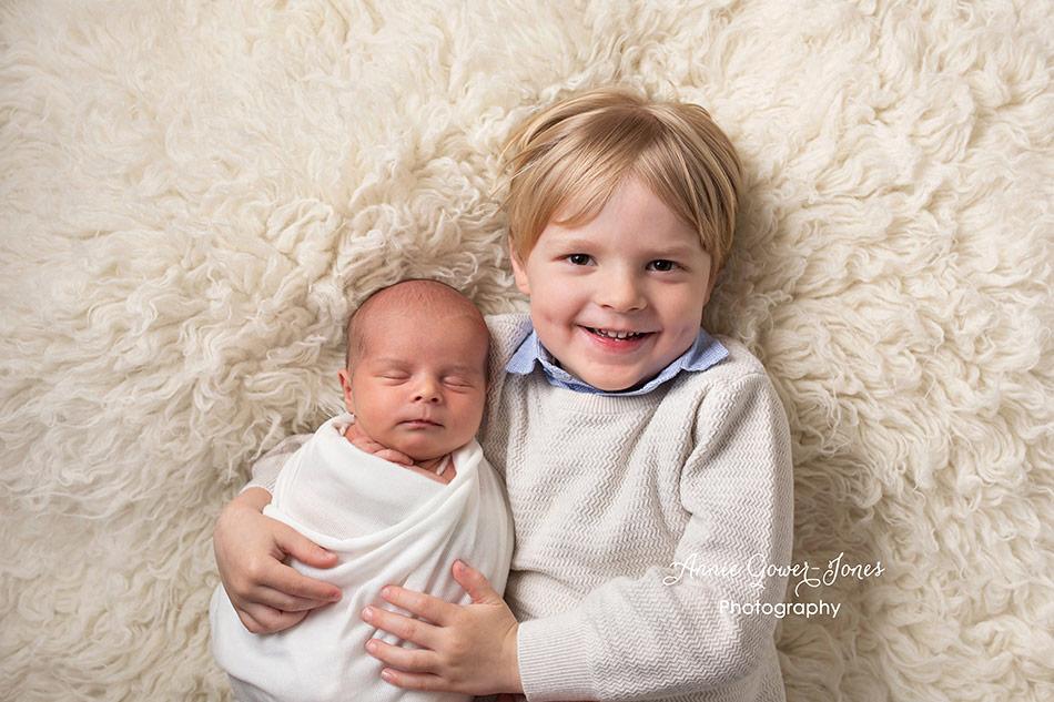 Annie Gower-Jones photography newborn baby studio photoshoot Manchester Hale Altrincham Timperley