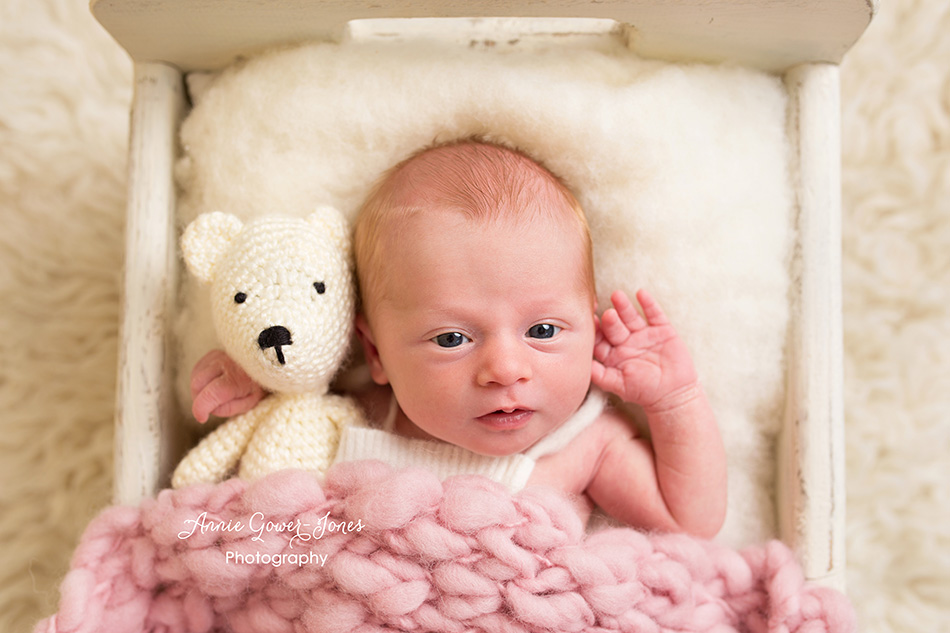 Annie Gower-Jones photography newborn baby studio photographer Manchester Altrincham Hale Cheshire