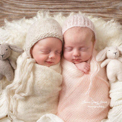 Annie Gower-Jones photography newborn twins baby studio photographer Manchester Altrincham Sale Hale